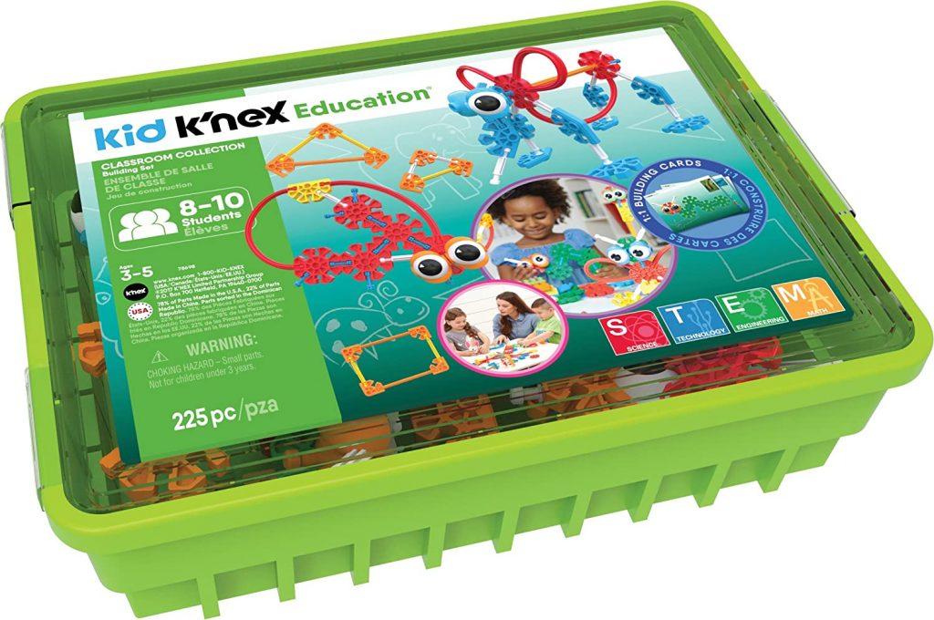 K'nex classroom edition spelen in het klaslokaal